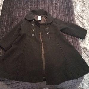 Black peacoat toddler